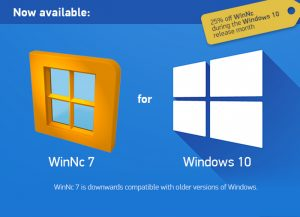 WinNc 7 for Windows 10 available