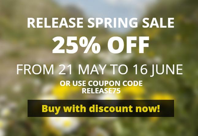 Still 3 days of WinNc sale: 25% off